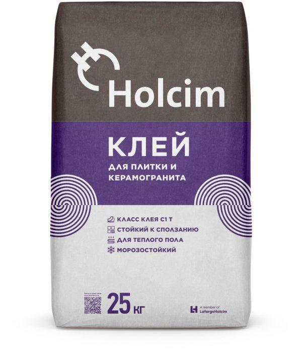 Клей для плитки и керамогранита Holcim 25кг