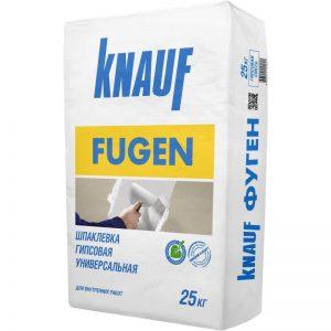 Шпаклевка гипсовая Knauf Fugen 25кг