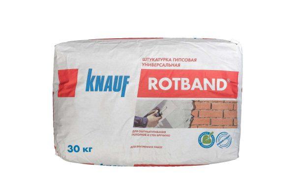 Штукатурка гипсовая универсальная Knauf Rotband 30кг