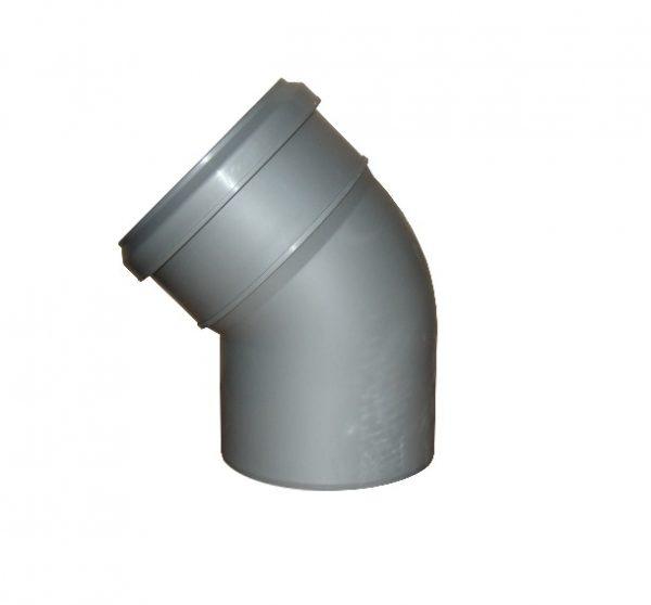 Отвод 160 угол 90 пластик для наружных работ