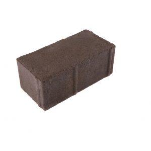 Бетонная тротуарная плитка 200х100х60мм брусчатка серая