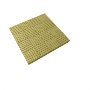Тротуарная плитка 300х300х30мм паркет коричневая
