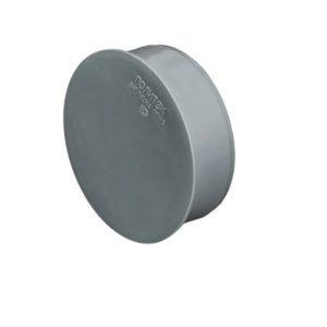 Заглушка Ø 50 мм пластик для внутренних работ