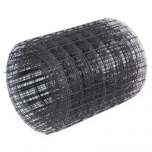 Сетка кладочная в рулоне из черного металла 0,3х50м