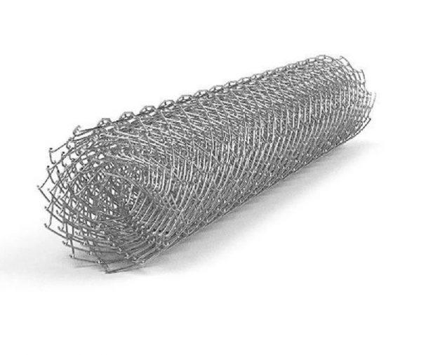 Сетка-рабица оцинкованная55х55мм 1,5х10м